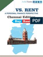 ArthaYantra Buy vs. Rent Score (ABRS)-Chennai