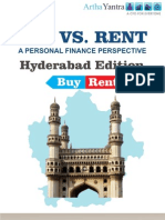 ArthaYantra Buy vs. Rent Score (ABRS)-Hyderabad