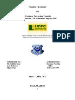hdfc final report....doc