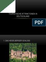 Touristische Attraktionen in Deutschland