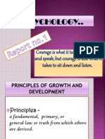 Principle of Growth and Development