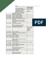 Calendario Litúrgico 2012