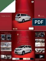 Alphard Leaflet 2010