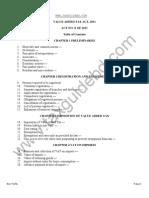 Draft VAT Act 2011