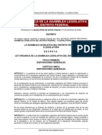 Ley Organica Aldf