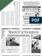 Versión impresa del periódico El mexiquense 2 abril 2013