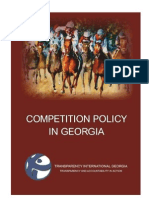 COMPETITION POLICY IN GEORGIA