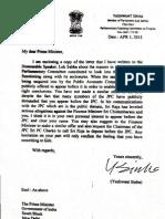 Yashwant Letter