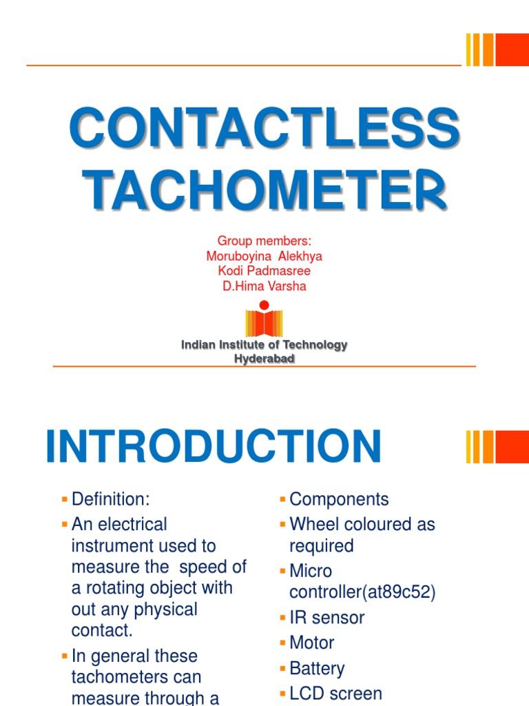 Contactless Tachometer Microcontroller Electrical Components Circuit Led The Infrared Very