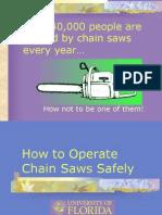Chainsaw Safety 3
