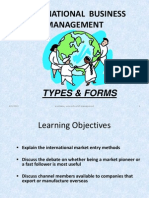 Unit 1 3 Types and Forms of International Business