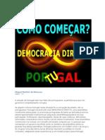 Como começar. Democracia directa. Portugal.doc
