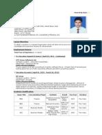 Pranab Das CV