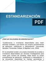ESTANDARIZACIÓN 1era.