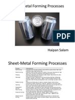 Sheet Metal Forming Process