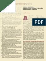 (o) FURTADO (2005) Novos Arranjos Produtivos, Estado e Gestão da Pesquisa