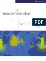 McKinsey Quarterly Q4 2013 | Low Cost Carrier | Strategic