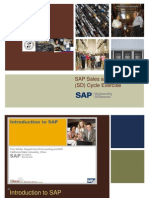 SAP Sales and Distribution Exercise