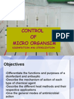 Control of Microorganism