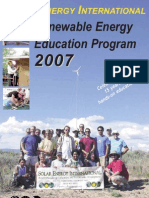 SEIcataloSOLAR ENERGY INTERNATIONAL