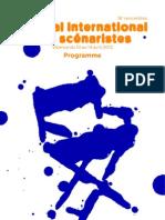 Programme - 16e Festival international des scénaristes