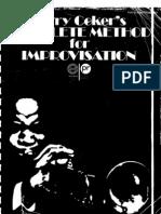 Jerry Coker - The Complete Method for Improvisation