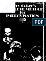 Jerry Coker - The Complete Method for Improvisation