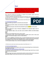 Preparation for Startup Guide Line Solar Turbines Compressor