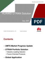 45711600 Huawei UTRAN Solution