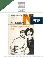 El curso.J.A. Payno
