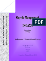 Ingaxa (Guy de Maupassant) ~ La Parure