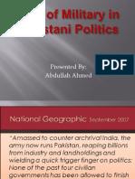 Military Politics