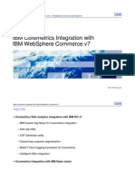 IBM Coremetrics Integration