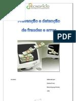 prevenção e detençãode fraudes e erros