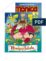 Romeu e Julieta Turma da Mônica