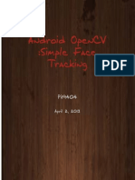 Android OpenCV Simple Face Tracker