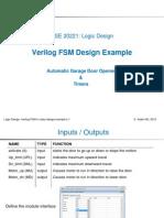 L17_FSM Design Example With Verilog