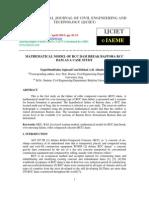 Mathematical Model Ofrcc Dam Breakbastorarcc Dam as a Case Study