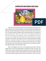 The Snow White and Seven Dwarfs Short Story