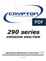 290 Series Emission Analyser