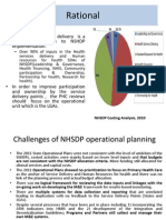 Understanding PHC Reviews and the  Nigeria planning and implementation framework- Dr Eboreime Ejemai