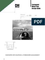 Corrugated Metal Pipe Design Guide