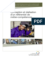 53186982 Conception Et Realisation d Un Referenciel de Metier Competences