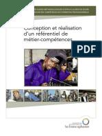53186982 Conception Et Realisation d Un Referenciel de Metier Competences