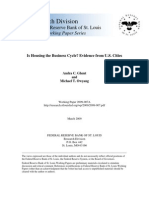 Housing and the Busines Cycle