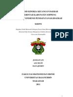 Analisis Kinerja Keuangan Daerah