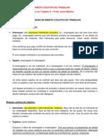 Direito Coletivo Do Trabalho (Caderno)