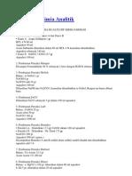 Reagensia Kimia Analitik