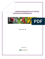 White Paper - Exploring the Relationship Between Toxicity and Hormone Imbalance