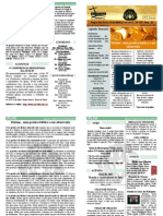 Boletim 24 de março de 2013